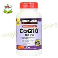 Jual KIRKLAND SIGNATURE COQ10 300 mg 100 SOFTGELS Limited