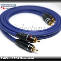 Kabel Audio RCA (Nakamichi) 60 cm