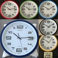 Jam Dinding Diamond M 321-3, Diameter 32cm, std movement | Wall Clock