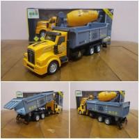 Diecast Mobil Truk Molen - Diecast Mobil Dump Truk