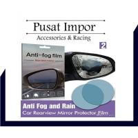 Anti Fog Film for Side - Spion Mobil Anti Embun 10 x 10 cm Bulat
