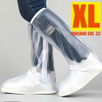 mantel sepatu - sarung sepatu / Cover Sepatu Reflektor Cahaya PUTIH