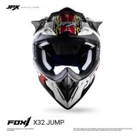 JPX FOX1 FULL FACE X32 JUMP PEARL WHITE