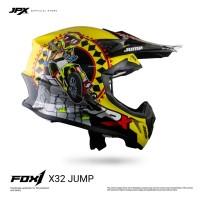 JPX FOX1 FULL FACE X32 JUMP YELLOW LEMON GLOSS