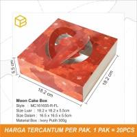 Box Mooncake Kemasan Kue Bulan Kotak Moon Cake Imlek CNY MC161655 R-FL