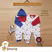 Blessing babywears-Jumper panjang kaki tutup bayi-SZ:0-6bulan-A-combi