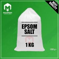 Garam Inggris / Epsom Salt / Garam Epsom / Magnesium Sulfat MgSO4 1Kg