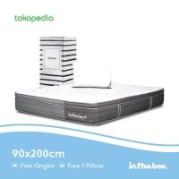 Kasur Spring Bed IN THE BOX PLUS UK 90x200 (Single) FREE PILLLOW