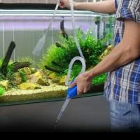 alat penguras kuras penyedot aquarium