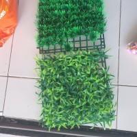 rumput sintetis untuk dasaran karpet aquarium