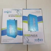 air pump amara aa 001 portable baterai