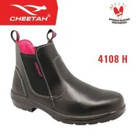 4108 H - Cheetah - Single Sol Polyurethane - Safety Shoes