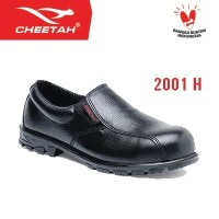 2001 H - Cheetah - Nitrile - Safety Shoes - Hitam