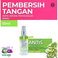 Antis Spray Hand Sanitizer Pembersih Tangan Timun Botol isi 55ml