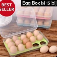 BOX TELUR 15 sekat / EGG BOX