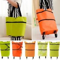 Tas belanja lipat roda trolly / Foldable shopping cart / shopping bag