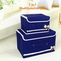 STORAGE BOX 2IN1 /Bag storage /kotak penyimpanan 2in1