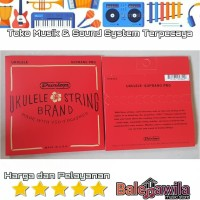 Senar Ukulele Soprano Sopran Dunlop DUQ301 DUQ 301 Original
