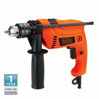 Black Decker Bor Hammer Drill 13mm 550W