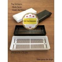 Tray Semai Bibit Media Tanam Microgreen Hydroponik / Cutlery PREMIUM