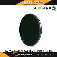 Kase 72mm Variable ND Neutral Density 3-1000 Circular Filter