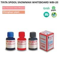 Tinta Spidol Snowman WhiteBoard WBI-20 / Snowman Whiteboard Ink Refill - Hitam