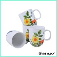 SANGO Mug Set Floral (isi 4)