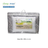 [TERMURAH GRATIS BANTAL] Sleep Max Kasur Lipat Natural Sleep 90x190x4