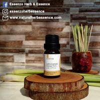 Essenzo Lemongrass/NYERI HAID/Anti Radang/Relaksasi/Essential Oil - 10 ml
