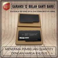 BATERAI HP DM3 DM3-1000 DM3-2000 HSTNN-OBOL