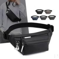 Tas Selempang waterproof Pria Wanita Waistbag Multifungsi #12