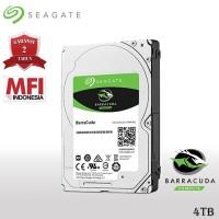 Seagate Barracuda 4TB - HDD PC 3.5 Inch - GARANSI RESMI 2 TAHUN