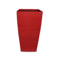 POT INDOOR OFFICE & HOME CLEAN HYDRO RATTAN LOOK #05-836 30x56-RED