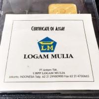 ANTAM 5g - Logam Mulia Emas 5 Gram Sertifikat Antam Model Lama