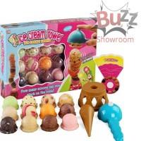 Ice Cream Tower Mainan Anak Es Krim Scoop Susun