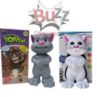 Mainan Intelligent Tomcat Talking Singing Cat Berbicara Cerita Rekam
