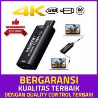 HDMI Video Capture Card 1080p, untuk streaming game, live meeting