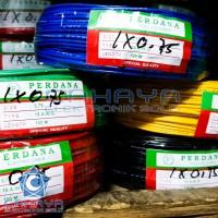 Kabel Listrik Serabut Perdana 1x0,75 NYAF 18 AWG 100 Meter Roll Engkel