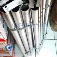Cagak Tiang 1.5 dim 1m + Klem Parabola Dinding inci meter Dish Pipa
