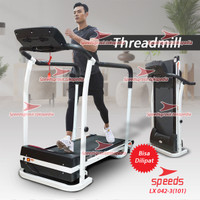 Treadmill Elektrik Tredmil 2.0 Mesin Olahraga Gym Fitness 042-3(101)