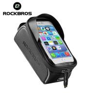 ORIGINAL Tas Frame sepeda ROCKBROS Touchscreen 6 inci Waterproof