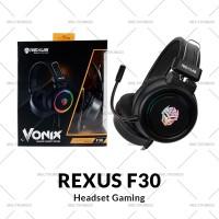 Headset Gaming Rexus Vonix F30 LED RGB Spectru