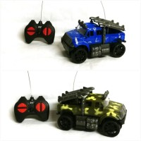 Mainan Mobil Remote Control Jeep Army - Rc Jeep Army Missile Chariot
