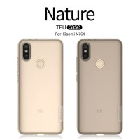 XIAOMI MI 6X / MI A2 NILLKIN NATURE ORIGINAL SILICONE SOFT CASE CLEAR