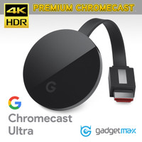 GOOGLE CHROMECAST ULTRA 4K HDR Original - No BOX