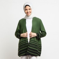 Outer Atasan Wanita GreenGaris - Emikoawa Cardigan Souvenir Korea