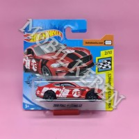 Hot Wheels Short Card HW Speed Graphics 2018 Ford Mustang GT Red