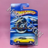Hot Wheels Mopar Madness 1970 Plymouth Barracuda Yellow