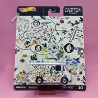 Hot Wheels Premium Led Zeppelin Combat Medic White