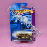 Hot Wheels Gold Humvee Gold
